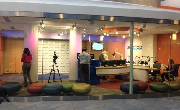 American Made Furniture >> Ryan Seacrest Studios - Cincinnati Children's Hospital Medical Center | RCF Group